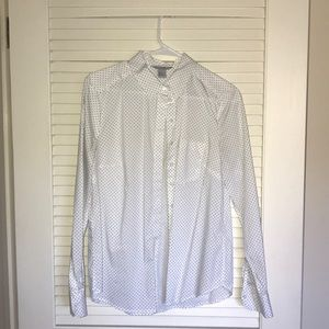 [Wardrobe Staple] H&M Polka Dot Shirt